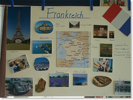 Grundschule Eberfing Referate über Fremde Länder